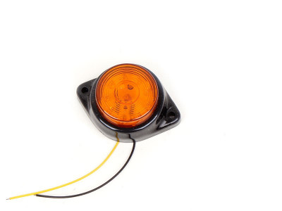 LED SVETLO ZA KAMION 24V 1.1W 10 LED ŽUTO
