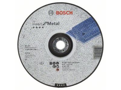 BRUSNA PLOČA O230x22,23x6.0mm ISPUPČENA - METAL