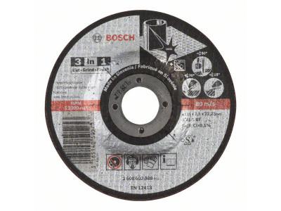 BRUSNO-REZNA PLOCA O115x22,23x2,5mm 3 U 1