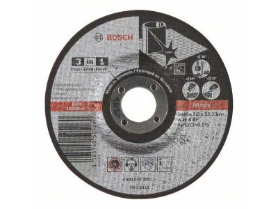 BRUSNO-REZNA PLOCA O125x22,23x2,5mm 3 U 1