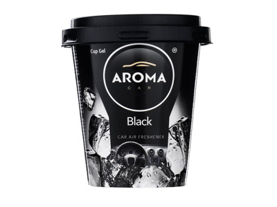 MIRIS GEL ČAŠA 130G BLACK