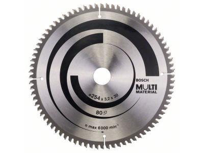 LIST TESTERE O 254x30x3,2mm,80Z