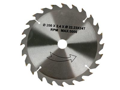 LIST TESTERE  200x22.23x2.4 mm T24